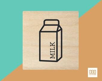 Milk - 3cm Rubber Stamp (DODRS0090)