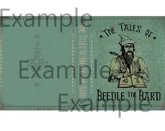 Harry Potter Printable Book Covers: The tales of Beedle the Bard