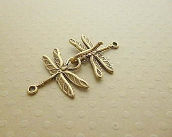 Clasp hook bronze Dragonfly - FB-1201