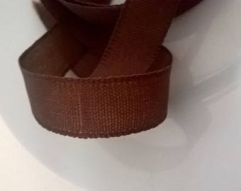 Beautiful chocolate colored binding tape