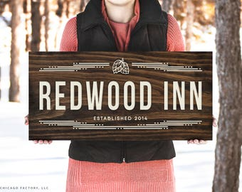 Custom Bar Sign, Wood Bar Sign, Personalized Bar Signs, Home Bar Sign, Rustic Home Decor, Bar Gifts, Birthday Gift, Gifts for Him (GP1137)
