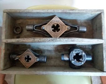 Antique Pipe Threaders