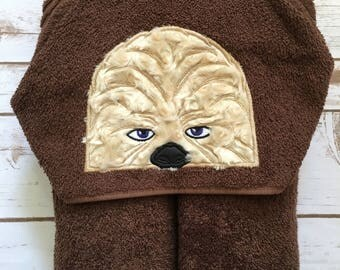 Galaxy Furry Friend Hooded Towel - Perfect for Pool, Beach or Bath Time - Great Birthday Gift