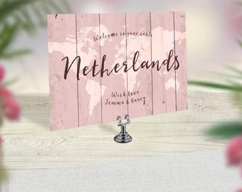 Wedding Table Names, Rustic Table Numbers, Travel Wedding Decor, Table Cards, Boho Decoration, Vintage Wedding Signs, Destination Stationery