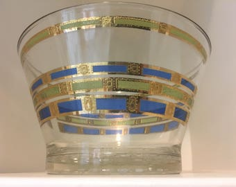 Mid Century Culver Glass Ice Bowl - Empress