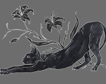 Sphynx Cats A3 Prints - 2 Designs