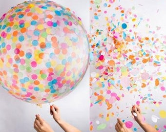 Confetti Balloons set of 10