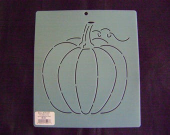 Sashiko Japanese Embroidery or Traditional Quilting Stencil 7 in. Pumpkin Motif Block/Quilting