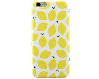 iPhone SE Case iPhone Case SE iPhone 5 Case iPhone Case 5 iPhone 5s Case iPhone Case 5S - Lemon ! Magic Fruit - Ultra slim - TRANSPARENT