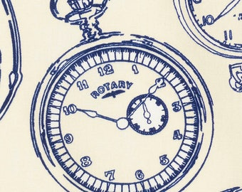 Pocket Watch Fabric sk159