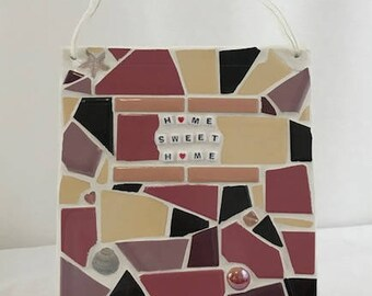 Mosaic Home Sweet Home - Wall Hanging
