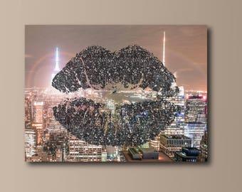 Fine Art Photography - NYC Kiss