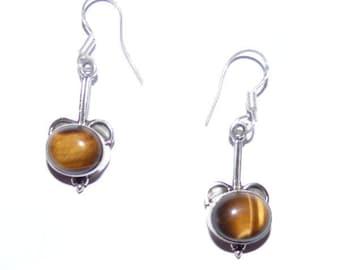 Oriental Earrings Silver 925