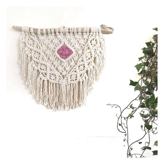 "Macrame Wall Hanging ""Dreamer"" READY TO SHIP"