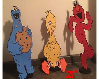 Sesame Street Table Stands