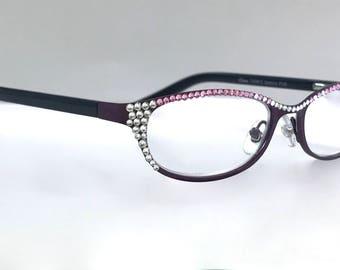 Swarovski Crystal Readers Reading Glasses  +2.00