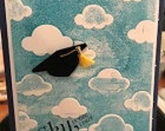 Graduation The Sky is The Limit Greeting Card