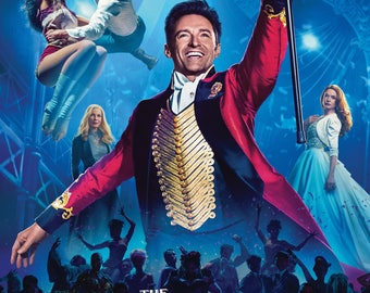 The Greatest Showman Movie Poster - 3 Size Options - Includes a Free Surprise A3 Poster (1)