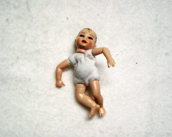 Miniature doll, about 4,5 cm