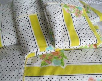 Polka Dots & Stripes Twin Sheet Set