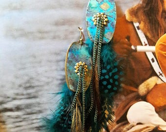 Trapper earrings