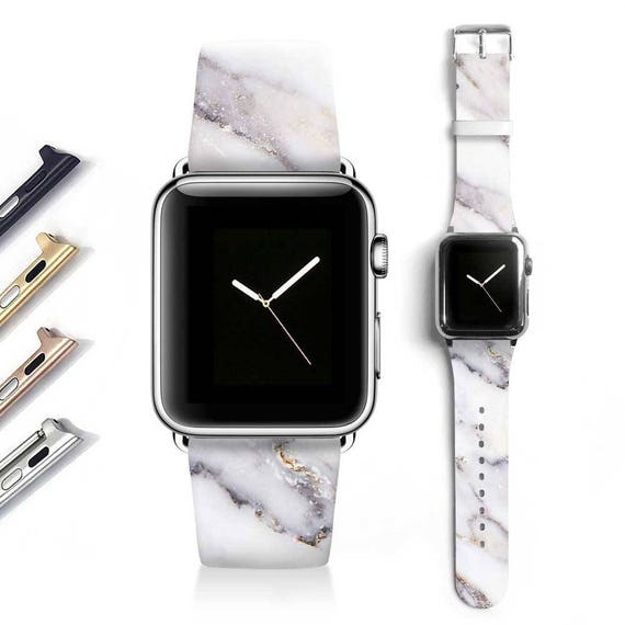 Marble Apple watch band women Apple watch strap genuine