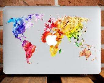 World MaMacBook Air 13 Case MacBook Pro Retina 15 Case MacBook Cover MacBook Pro 13 Case Travel Gift MacBook Pro 15 Cover Colourful WCm077