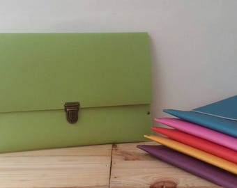 Recycled - linoleum soft recycled green Tablet case