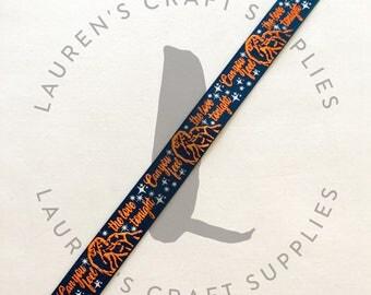 """Lion Ribbon   Safari Ribbon   Can You Feel the Love Tonight   Hairbow Ribbon   US Designer Ribbon   7/8"""" Ribbon   Grosgrain Ribbon"""