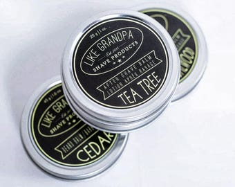 After Shave Balm | All Natural | Sandalwood or Tea Tree