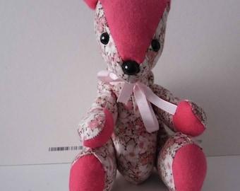 Handmade bear called Lille