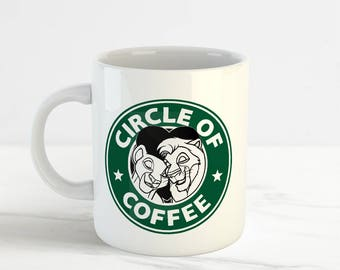 lion king mug etsy. Black Bedroom Furniture Sets. Home Design Ideas