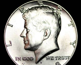 1968 Kennedy Half Dollar coin ring