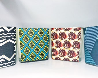 African Print Home Decor // Hand Poured Soy Candle