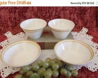 SALE Collection of 4 Syracuse China - 12-B Syralite, 2 Soup Cups, 2 Soup Bowls