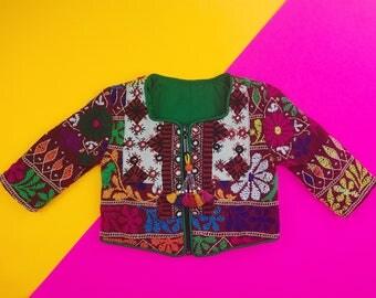 6-12 mos, 6 mos, 9 mos Banjara Toddler Moon Jacket, Kids Hippie Jacket, Moon Jacket, Moon Baby, Bohemian Kids Jacket, Lightweight Coat, Coat