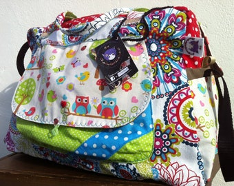 Diaper bag, personalized baby bag * on order - fabric choices *.