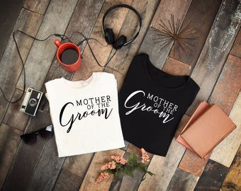 Mother of the Groom Shirt, Mother of the Bride Gift, Wedding, Bridal Party, Hat, Mug Decal