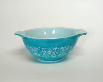 Pyrex Butterprint ,Amish Cinderella Mixing Bowl #442, Kitchenware,Tableware,Dnnerware,Dining
