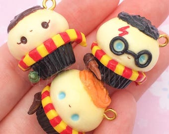 Harry Potter Cupcakes | Harry, Ron, Hermione