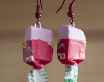 Toffee bar earrings