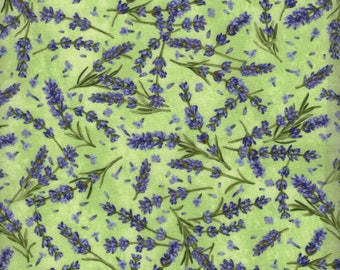 Lavender Market by Deborah Edwards for Northcott Fabrics, Fabric by the yard, 20290-70
