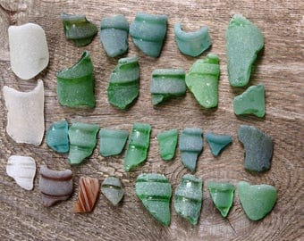 28 pcs genuine sea glass beach seaglass bottle neck engagement party decorations engagement gifts for her gift for bride wedding day gifts