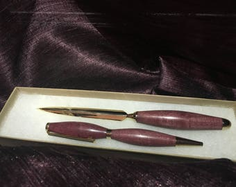 Pen and Letter Opener set