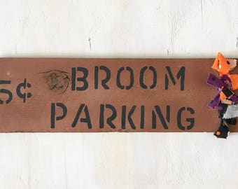 Wood Painted Rustic Home Decor Sign Halloween