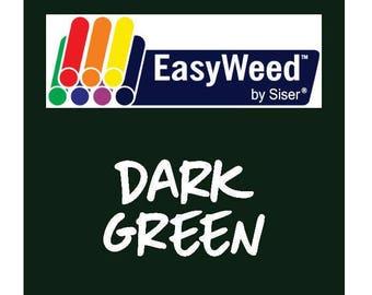 Siser EasyWeed Heat Transfer Vinyl - HTV - Dark Green