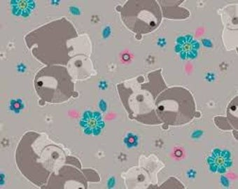 """Mama & Me Fabric Collection - Mama and Me tan by Camelot Fabrics , 43-44"""" wide, 100% cotton"""