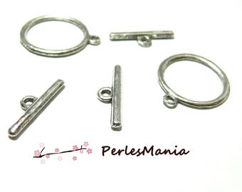 4 place mats T 2D2355 great old silver, DIY toggle clasps