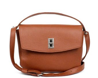 Womens leather bag, leather bag purse, leather handbag, small crossbody bag, leather shoulder bag, mini leather bag, crossbody bag purse