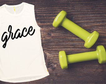Women's Tank Top -Grace,  Workout Clothing